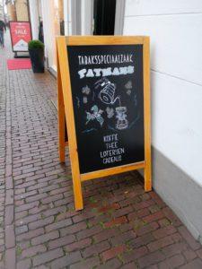 krijtbord tekening paymans koffie
